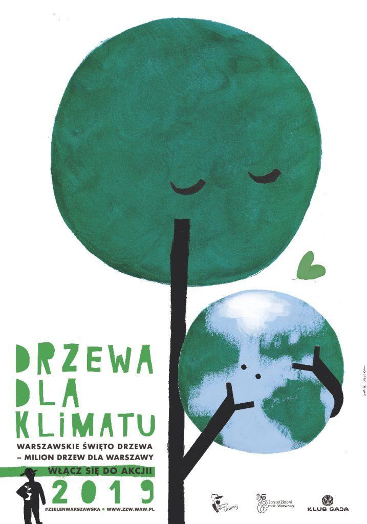 Plakat: Drzewa dla klimatu 2019