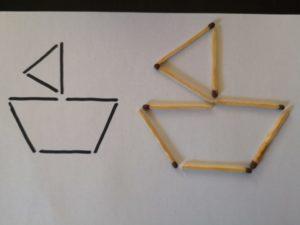 zdjęcie figur ułożonych według wzoru