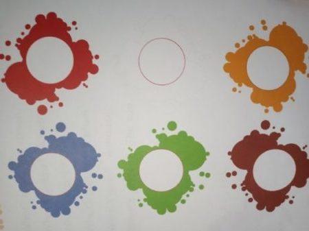 zdjęcia kolorowych plam