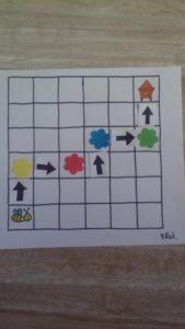 zdjęcie planszy do gry ze strzałkami