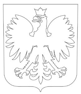 kolorowanka Orła białego