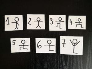 zdjęcie ilustracji z rysunkami ćwiczeń