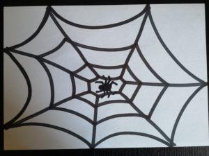 rysunek pajęczyny