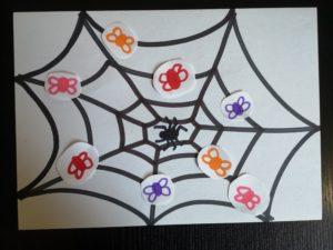 zdjęcie rysunku pajęczyny