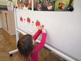 Zdjęcie dziewczynki kontynuującej sekwencję