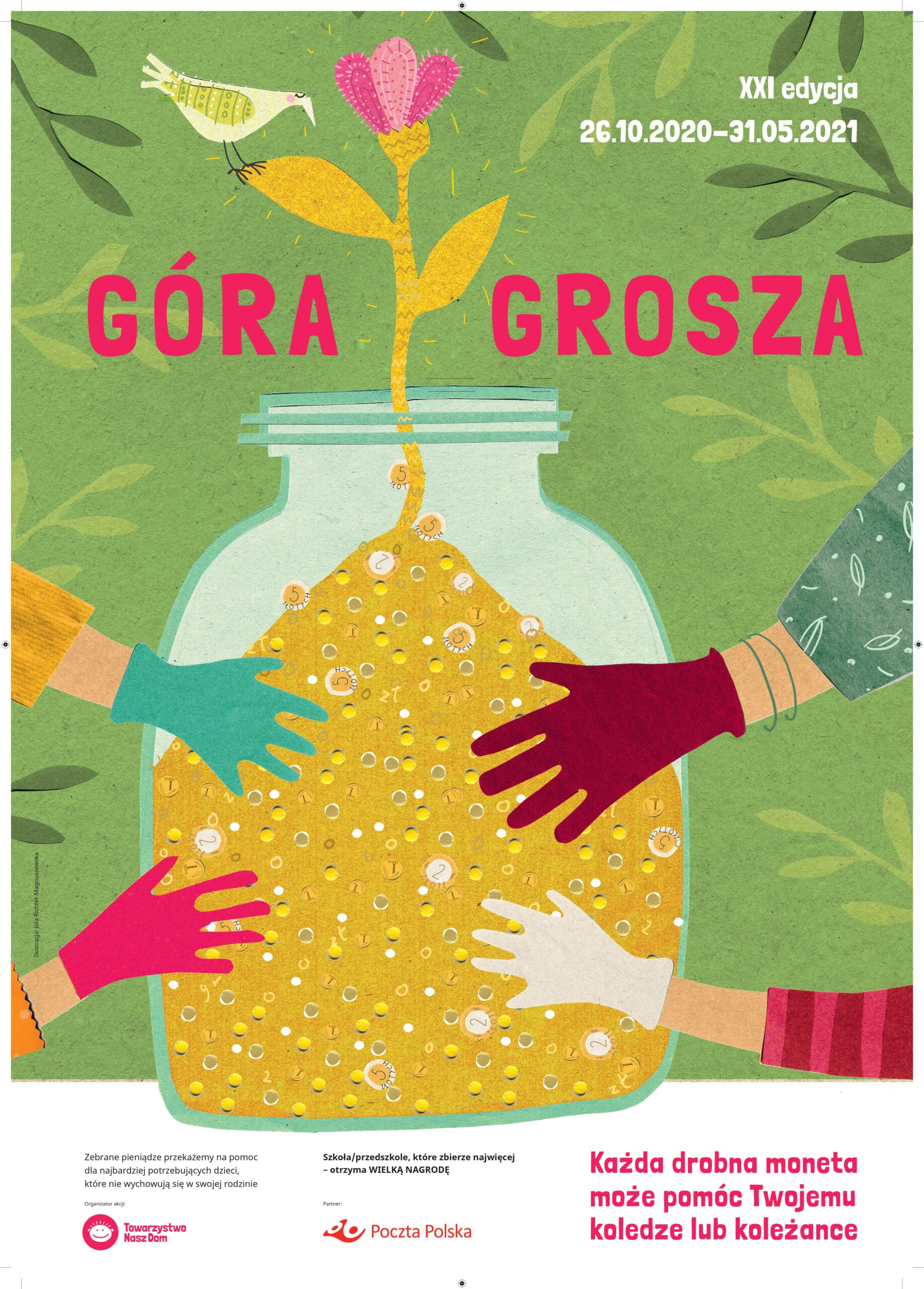"Plakat akcji ""Góra Grosza"""