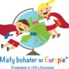 """Logo programu """"Mały bohater w Europie"""""""