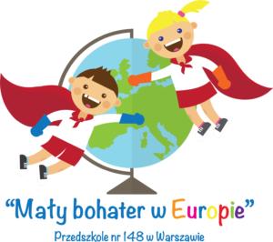 """Logo projektu """"Mały bohater w Europie"""""""
