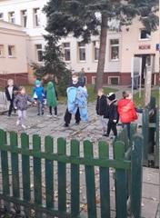 Próbna ewakuacja dzieci