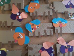 zdjęcie pracy plastycznych dzieci