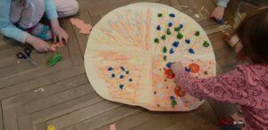 zdjęcie pracy plastycznej dzieci