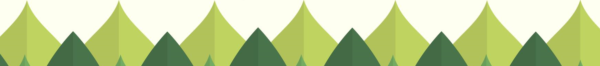 Zielony szlaczek