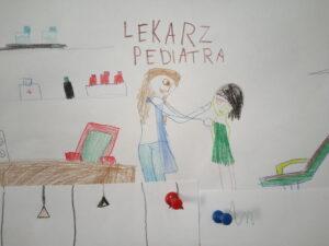 Zdjęcie rysunków dzieci