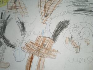 zdjęcie rysunku dzieci