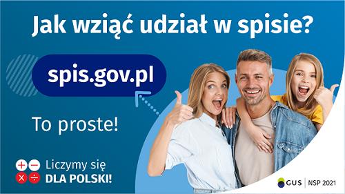 Jak wziąć udział w spisie? spis.gov.pl