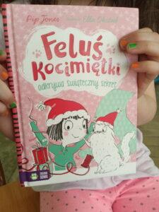 """Okładka książki """"Feluś Kocimiętki"""""""