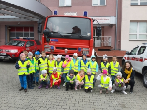 Biedronki w Szkole Pożarniczej