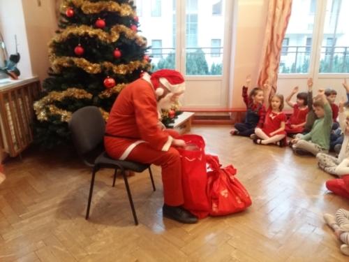 Mikołaj u Biedronek i Tygrysków