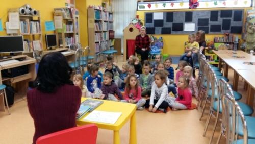 Tygrysy w bibliotece - październik