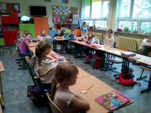 Tygryski w Szkole Podstawowej nr 70